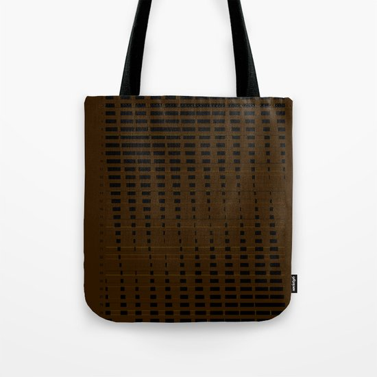 2012 Moon Phases Tote Bag