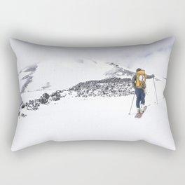 To the summit Rectangular Pillow