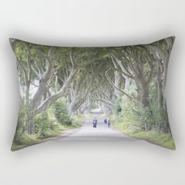 Dark Hedges, Northern Ireland Rectangular Pillow