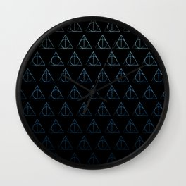 One Powerful Wizard Wall Clock