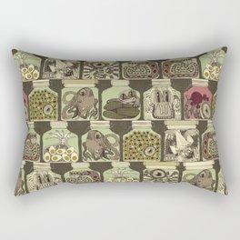 weird pickles vintage Rectangular Pillow