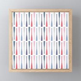 AFE Canoe Paddles Framed Mini Art Print
