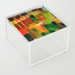 city ​​construction site Acrylic Box