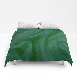 Green SWIRL Comforters