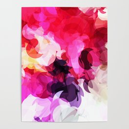 Bright Happy Color Abstract Poster