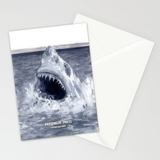 Shark Attacks! ( by Luca Conca for Passenger Press) Stationery Cards