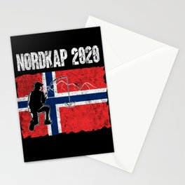 Norway Deep Sea Fishing Tour Fisherman Dad Angling Stationery Cards