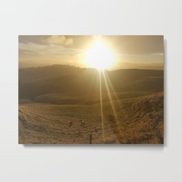 Sunny Day in the Countryside pt. 2 Metal Print