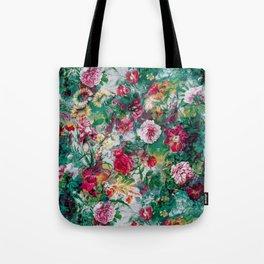 Stormy garden Tote Bag