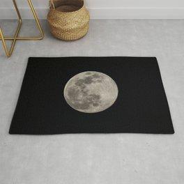 Super Moon 7 April 2020. Sunrise Rug
