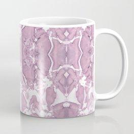 Shibori Rose Crepe De Chine Coffee Mug