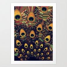 visual melody 3 Art Print
