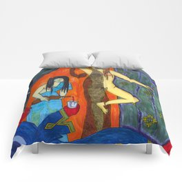 Lots daughters made drunken their father and slept with him. (Lot3) Comforters