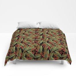 Flowering Gum - Black Comforters