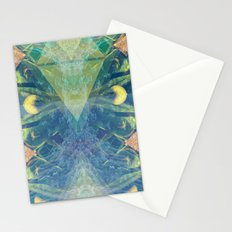 Deep Space Aphelionic Vegetation Surface Discovery Stationery Cards