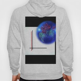 Abstract in perfection - Fertile Imagination Rose 3 Hoody