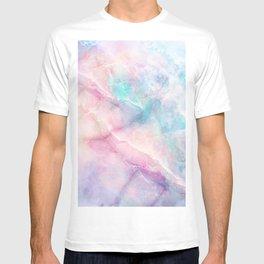 Iridescent marble T-shirt
