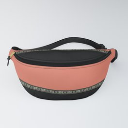 Black-coral Fanny Pack