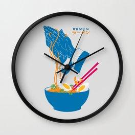 Delicious Daily Ramen Wall Clock