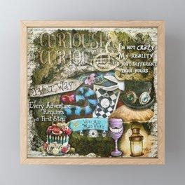Cheshire Cat Framed Mini Art Print