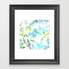 Tropical Leaf llV Framed Art Print