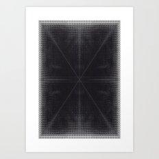 X 2 Art Print