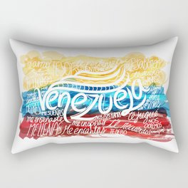 Te amo-Me amas Venezuela Rectangular Pillow