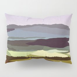 Sunset over the Valley Pillow Sham