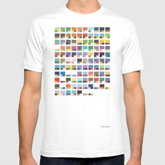 Poke-Pantone 4 (Sinnoh Region) T-shirt
