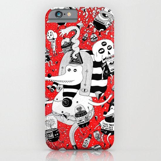 rot zeichentusche  iPhone & iPod Case
