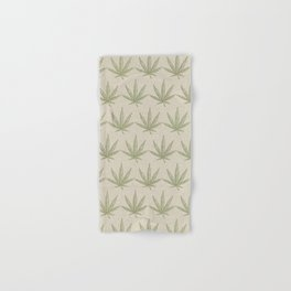 Weed Leaf Hand & Bath Towel