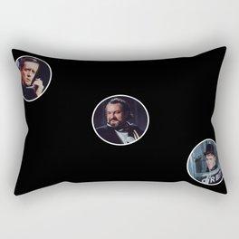 The Prisoner: The Three Prisoners Rectangular Pillow