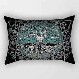 Gate & Key: Sidereal 13 Sign Astrology Rectangular Pillow