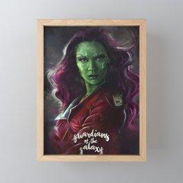 Gamora Framed Mini Art Print
