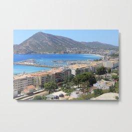 Spanish Riviera Metal Print