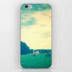 Summer Hay Field iPhone & iPod Skin