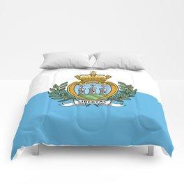 San Marino Flag Comforters
