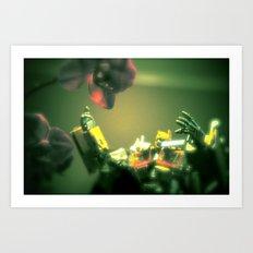 Opti Love Art Print