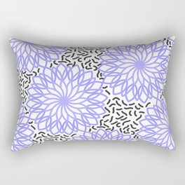 Nineties mandalas Rectangular Pillow