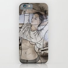 A day in bed Slim Case iPhone 6s