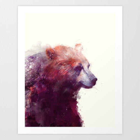 Bear // Calm Art Print