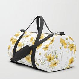Yellow Cosmos Flowers Sporttaschen