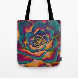 """""""Exotic Succulent Pop Art"""" Tote Bag"""