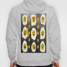 funny side up Hoody
