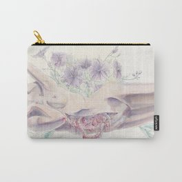 Bathing in a Violet Garden Carry-All Pouch