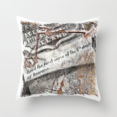 1800's Gravestone Art  Series 3 Throw Pillow