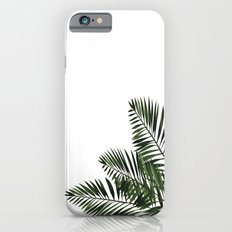 Tropical Exotic Palm Leaves I on #Society6 iPhone 6s Slim Case