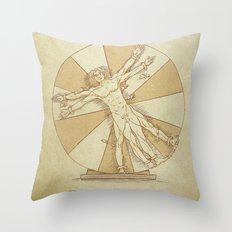 True Story of Perfect Proportions Throw Pillow