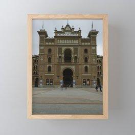 Plaza de Toros Framed Mini Art Print