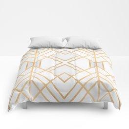 Golden Geo 2 Comforters